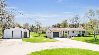 Waupaca Single Family Home Active-Offer No Bump: E2793 Crystal