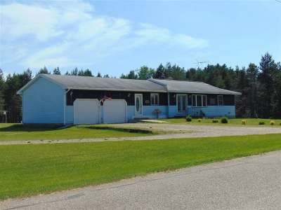 Crivitz Single Family Home Active-No Offer: W8821 Townline