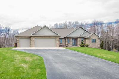 Oconto County Single Family Home Active-Offer No Bump: 6190 Northern Lights
