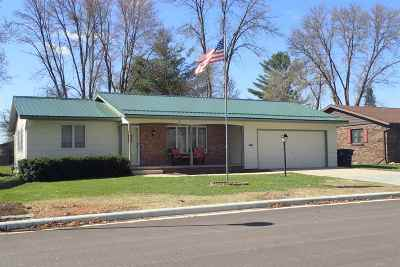 Shawano Single Family Home Active-Offer No Bump: 160 S Humphrey
