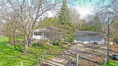 Oshkosh Single Family Home Active-Offer No Bump: 4608 Hwy T