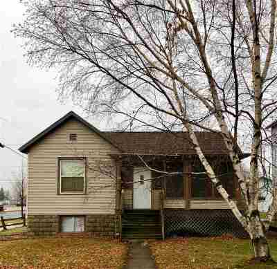 Marinette Single Family Home Active-No Offer: 836 Carney