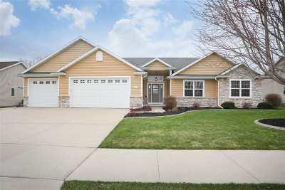 Appleton Single Family Home Active-Offer No Bump: 4005 E Benvalley