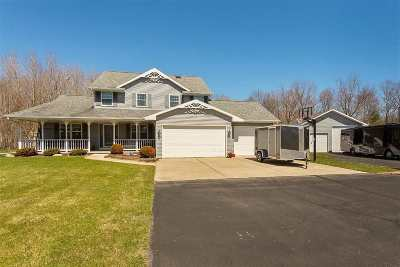 Oconto County Single Family Home Active-Offer No Bump: 488 Crest Haven