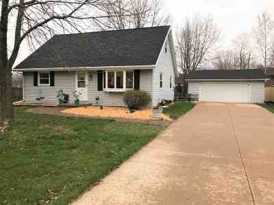 Menasha Single Family Home Active-Offer No Bump: 1195 Bonnie