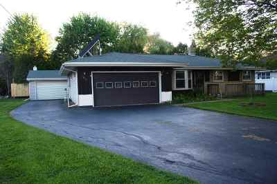 Appleton Single Family Home Active-No Offer: 1011 S Bluemound