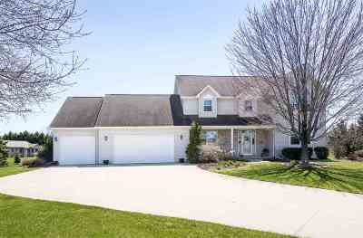 Appleton Single Family Home Active-No Offer: 3806 Wine Berry