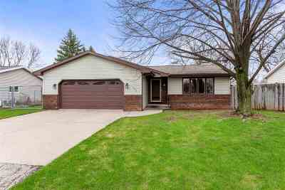 Appleton Single Family Home Active-Offer No Bump: 1706 N McIntosh