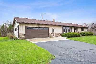 Oconto Single Family Home Active-Offer No Bump: 3181 Maple Grove School