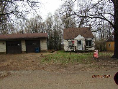 Shawano Single Family Home Active-Offer No Bump: W7360 Hillside