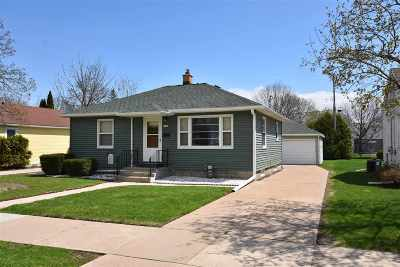 Oshkosh Single Family Home Active-Offer No Bump: 1536 Rugby