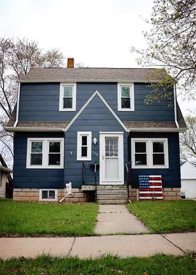 Neenah Single Family Home Active-Offer No Bump: 628 Chestnut