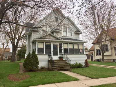 Menasha Single Family Home Active-Offer No Bump: 604 1st