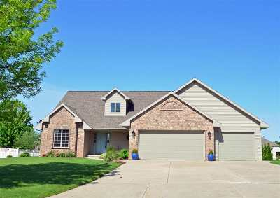 Green Bay Single Family Home Active-No Offer: 1802 Turquoise
