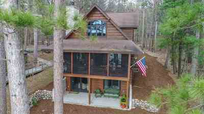 Waupaca Single Family Home Active-No Offer: N3009 White Pine
