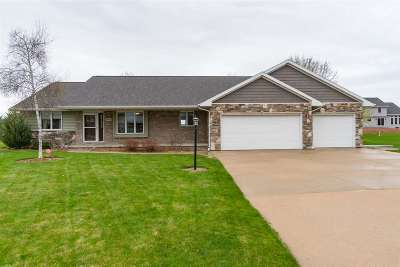 Appleton Single Family Home Active-Offer No Bump: N9403 Sara