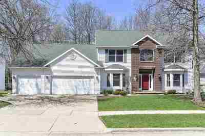 Oshkosh Single Family Home Active-Offer No Bump: 1729 Hunters Glen