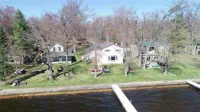 Shawano County Single Family Home Active-Offer No Bump: W5497 North Shore