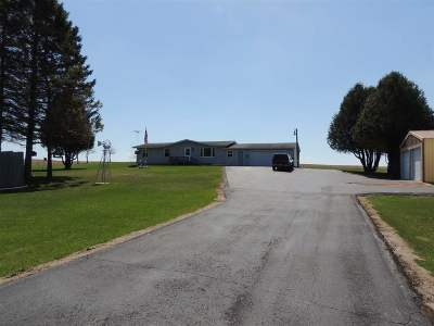 Coleman Single Family Home Active-Offer No Bump-Show: W9845 Hwy B