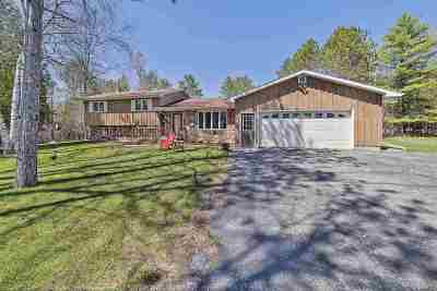 Menominee Single Family Home Active-No Offer: W6288 2.5 Rd