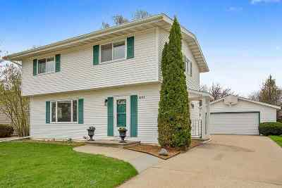 Oshkosh Single Family Home Active-Offer No Bump-Show: 2387 Allerton