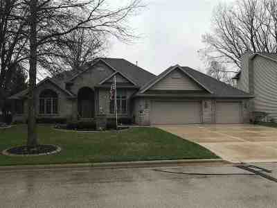 Green Bay Single Family Home Active-No Offer: 220 E Falcon Hill
