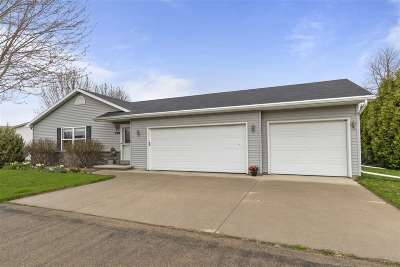 Appleton Single Family Home Active-No Offer: W2302 Block