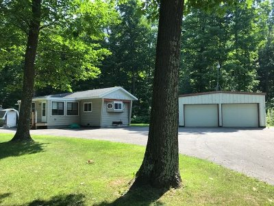 Oconto County Single Family Home Active-No Offer: 17820 Nicolet