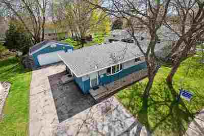 Menasha Single Family Home Active-Offer No Bump: 713 11th