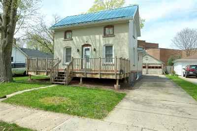 Menasha Single Family Home Active-Offer No Bump: 315 Oak