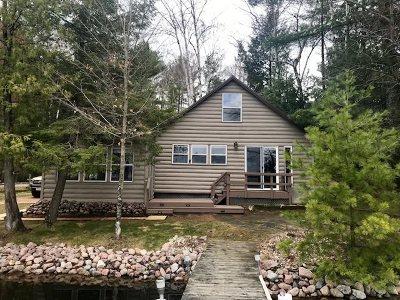 Oconto County Single Family Home Active-Offer No Bump-Show: 17843 Lake John