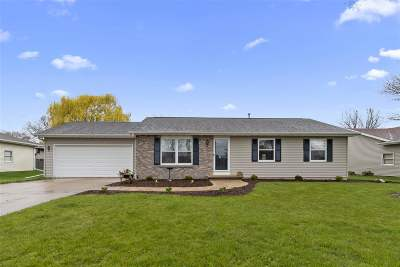 Appleton Single Family Home Active-Offer No Bump: 28 Rainbow