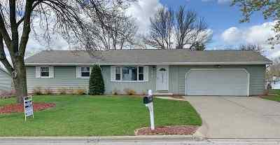 Green Bay Single Family Home Active-Offer No Bump: 2242 Hilltop