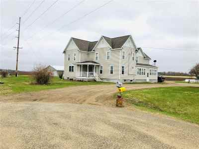 Shawano County Single Family Home Active-No Offer: W15257 Church