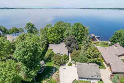 Winneconne Single Family Home Active-No Offer: 7107 Clarks Point