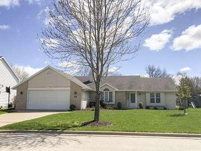 Green Bay Single Family Home Active-No Offer: 1145 Tara Marie