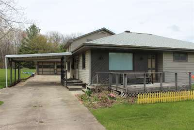 Lena Single Family Home Active-No Offer: 9143 Hwy 141