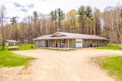 Shawano County Single Family Home Active-Offer W/Bump: N3656 Elm Grove