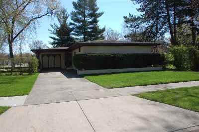 Oshkosh Single Family Home Active-No Offer: 1138 Evans