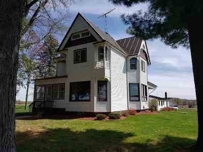 Waupaca Single Family Home Active-No Offer: E3797 Hwy Ee
