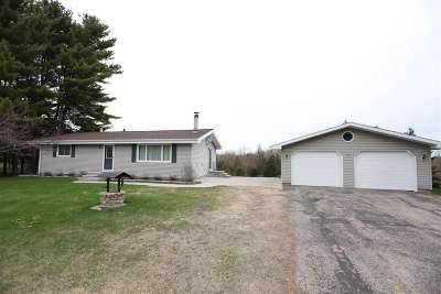 Menominee Single Family Home Active-No Offer: N2890 Bay De Noc
