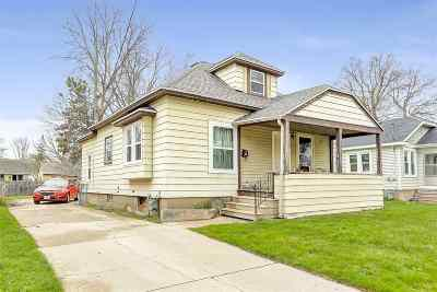 Green Bay Single Family Home Active-No Offer: 404 13th