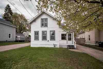 Oshkosh Single Family Home Active-No Offer: 722 Central