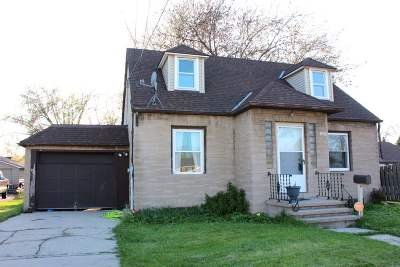 Menasha Single Family Home Active-No Offer: 848 Racine