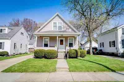Oshkosh Single Family Home Active-No Offer: 1336 Western