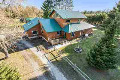 Marinette County Single Family Home Active-No Offer: W6757 Pike River