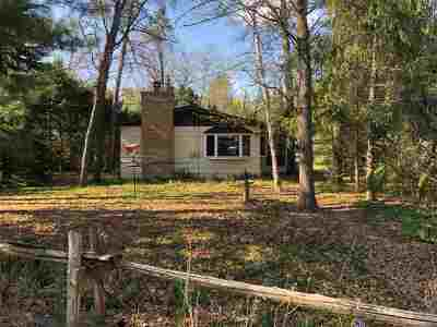 Shawano County Single Family Home Active-No Offer: W4957 Lake