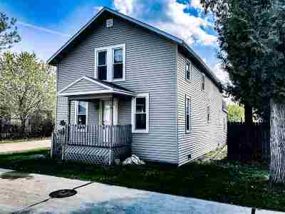 Oshkosh Single Family Home Active-Offer No Bump: 641 Poplar