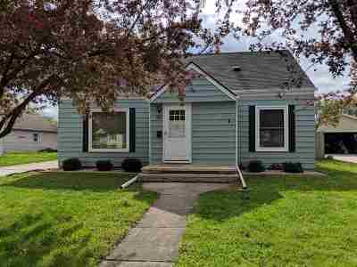 Neenah Single Family Home Active-No Offer: 853 Zemlock