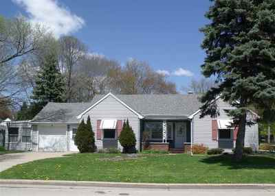 Appleton Single Family Home Active-No Offer: 2 Cherry